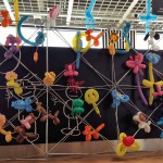 Luftballonstand als Eyecatcher
