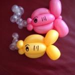 Ballonmotiv Fische