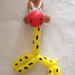 Ballonfigur Giraffe