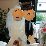 Ballonfiguren zur Hochzeitsfeier